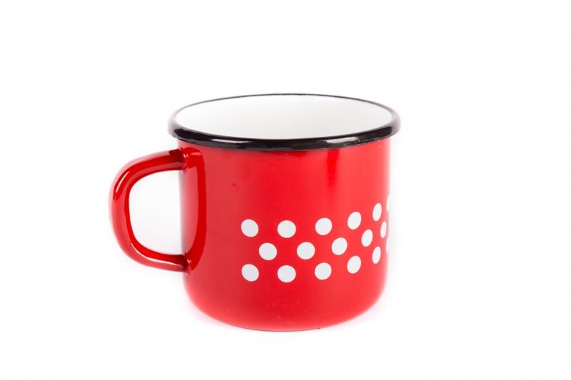7a621d2f10 Zománcozott bögre 1 literes, piros - PrimaNet online szakáruház