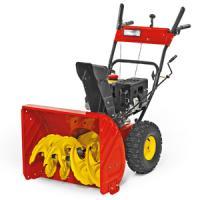A  WOLF-Garten Select SF 61 E  Hómaró  (31AW63F2650)  kétféle módon indítható be. Elektromos 230 V indítás vagy a berántó segítségével egy mozdulattal üzemeltethető. Sebességfokozatok: 6 db előre és 2 db hátra. Munkaszélessége 610 mm, munkamagassága 530 mm.    A  hómaró   WOLF 70H, OHV 208 cm3, 3.9 kW, 3600/min. motorral   felszerelt. A nagy, téli gumikkal ellátott kerekek 15