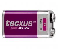 Texcus  akkumulátor  9 V, 250mA (TCM 280-9) . Akkumulátortechnológiája NiMH, feszültsége 9 V. Mérete 6LR61.
