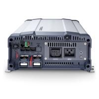 A Dometic SinePowerMSI2324T szinusz inverter hálózati pioritás áramkörrel 24 V egyenfeszültségből képez 230 V váltófeszültséget, így autóba, lakókocsiba, lakóautóba, kamionokba célszerű eszköz. Használható telefonok, kamera töltők, notebook, kisebb tévé, DVD lejátszó, Playstation és akár nyomtatóhoz is. A hálózati pioritás kapcsoló, ha külső hálózati feszültséget érzékel, akkor lekapcsolja az akkumulátoros táplálást.   A Dometic szinusz  inverter 2300 W tartós és 4000 W csúcsteljesítmény produkálására képes. Bemeneti csatlakozása színjelölt kábelszorító segítségével történik. A kimeneti jelalak szinusz (harmonikus torzítás < 3%), valamint kimeneti frekvencia 50/60 Hz, amely kapcsolható.  Az akkuőr funkció 21 V tápfeszültség alatt figyelmeztető jelzést ad, majd 20V tápfeszültség alatt kikapcsol, 25 V tápfeszültség felett újra üzembe lép. Túlfeszültség esetén 31 V felett figyelmeztető jelzést ad, 32 V tápfeszültség felett kikapcsol, azután 30 V tápfeszültség alatt visszakapcsol, így a készülék hosszú élettartama biztosítva van. A hűtésért hűtőbordás ház és ventilátor felel.