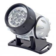 Home   fejlámpa  19 LED . A készülék működtetésekor 4 eltérő funkció közül választhat: 1 LED, 7 LED, 19 LED vagy 19 LED villog. Ellenáll a víznek, ami szintén elősegíti, a hosszú élettartamot. A  fejlámpa  dőlésszögét 135°-ban állíthatja. A lámpa tápellátását 3 db 1,5 V-os AAA-s elem biztosítja.