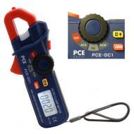 Ampermérő lakatfogó PCE-DC1  mérőműszerrel  AC/DC áram és frekvenciát lehet mérni.  Világító kijelzőjéből és kis méretéből adódóan bárhol használhatjuk az ampermérőt.   Az értintkezésmentes feszültségellenőrzésnek köszönhetően Ön teljes biztonságban van a potenciálok mérésekor. Az Ampermérő lakatfogó PCE-DC1 automatikus méréstartomány választóval rendelkezik, és tárolja a mérési értékeket.     A készülék a német  PCE Group  terméke, garantált a minőség!