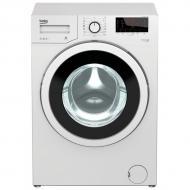 Beko  mosógép  (WMY-71033 PTLMB3) .  15 program  közül választhat, a  mosógép  működtetése során, emellett több opcióval is felszerelt, mint az előmosás, gyorsmosás, háziállatszőr eltávolítás, vasalás könnyítés. Automata vízadagoló rendszerrel, túlfolyás védelemmel, gyerekzárral, hátralévő idő kijelzéssel is ellátott. A mosógép ruhakapacitása 7 kg. Az A+++ energiaosztályba tartozik.    Ez a keskeny kialakítású készülék, ideális a kisebb lakásokban történő használatra is. Szélessége 60 cm, hossza 50 cm, míg magassága 85 cm. A mosógép vízfogyasztása 48 liter, éves energiafogyasztása 171 kWh. Késleltetés (24 óra), valamint hőmérséklet- és fordulatszám kiválasztás funkciókkal felszerelt.