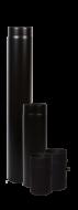 A  Vastag falú  füstcső 120/1000 mm  fekete színű. A füstcső anyagvastagsága 1,8 mm, átmérője 120 mm, hosszúsága 1000 mm. Kályhák, kandallók füstkivezetéséhez használható.