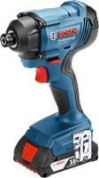 Bosch  GDR 180 LI  akkus ütvecsavarozó (06019G5120). Egyszerű karbantartás, LED lámpa, magas ütésszám, nagy fordulatszám jellemzi. Forgatónyomatéka maximum  160 Nm . A fúró üresjárati fordulatszáma 0 - 2800/perc.    Maximális csavarátmérője M6 - M14, ütésszáma 0-3.600 1/min. Az ütvefúró rezgéskibocsátása 9,5 m/s2. Szerszámtartója 1/4