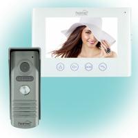Home  Smart  videó-kaputelefon szett (DPV WIFI SET) . 3in1 szett, melybe beletartozik videó kaputelefon, SMART funkciók, zár- és kapunyitó. Interneten keresztül a  világ bármely pontjáról  elérhető.    A kaputelefont távoli kapu vagy zárnyitási lehetőség, vezetékes vagy vezeték nélküli internet csatlakozás, manuális fénykép vagy videofelvétel készítés a látogatóról, infravörös éjszakai  LED világítás  jellemzi. A telefonon az időrendi naplózás segítségével minden tevékenység visszakereshető.    7