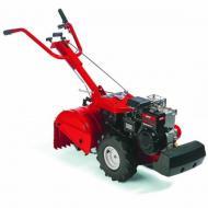  Az  MTD     T/450 kapálógép  , más néven  rotációs kapa   a kerti talajműveléshez elengedhetetlen eszköz. A hatékonyan, mégis kíméletesen dolgozó kések optimális talajszerkezetet hoznak létre. A kapák száma  2db első és 2 db hátsó , átmérőjük 33 cm, ez által 46 cm munkaszélességben dolgozhat. Kiváló minőségű     B&S 650 Intek OHV /4.8 kW/ motor ral felszerelt, indítása berántással működtethető. A  rotakapa  előre és hátra menetiránnyal rendelkezik.