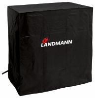 Landmann  Quality  védőhuzat  M (15701) . Polietilénből készült. Védelmet nyújt a hideg, napsütés, eső ellen. A  ponyva  alján tépőzár található.