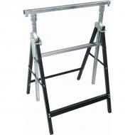   Az   Extol  asztalosbak   fémből készült, állítható és összecsukható szerkezetű. Maximum terhelés 300 kg, valamint 810 mm- 1300 mm magasságban állítható.