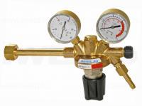Az Iweld Dynareg PB-gáz ipari, palack  nyomáscsökkentő   európai tervezésű és gyártású gázszerelvény. A maximumbemeneti nyomása 20 bar, a maximum kimeneti nyomása 1,5 bar. A nyomáscsökkentő bemeneti csatlakozása W21,8 x 1/14