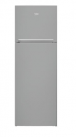 Beko kombinált felülfagyasztós  hűtőszekrény  (RDSA-310M30 X).  Az A++ energiaosztályba tartozik. Statikus hűtési rendszerű. A  hűtőszekrény  nettó friss étel tároló kapacitása 237 liter, nettó fagyasztó kapacitása 69 liter. Energiafogyasztása éves szinten 208 kWh. A  hűtő  magassága 175,4 cm, szélessége 59,5 cm, mélysége 60 cm. 4 db üvegpolccal, 1 db zöldségtartó műanyag rekesszel és 4 db ajtórekesszel ellátott. Zajszintje 39 db(A). Az ajtó színe ujjlenyomatmentes inox acél. A világítás oldalsó LED panel.