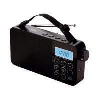 SAL LCD  táskarádió  (RPR 3LCD) . Az AM-FM-SW digitális világvevő rádió 60 rádióállomás tárolására képes. 23,5 cm széles, 12 cm magas, 5 cm hosszú. Tápellátását tartozék hálózati kábel vagy 3 x D/ LR20 (1,5 V) elem (nem tartozék) biztosítja.    A rádió különlegessége a lezárható billentyűzet. Fejhallgató csatlakozó aljzata 3,5 mm átmérőjű. Egy kék háttérvilágítású  LCD óra  található rajta.    A  táskarádió  további hasznos tulajdonságai: megnövelt érzékenység, elalvási időzítő (10-90 perc), ébresztési ismétlés  (5 perc), a kedvencekhez kiemelt gyorsgombok, ébresztés bip-bip jelzéssel vagy rádióval.