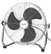 Home   padlóventilátor  35 cm, 60 W . Ideális készülék otthonában vagy munkahelyén történő használatra. Fém lapátjainak átmérője 35 cm. Használatkor 3 teljesítmény fokozat közül választhat. Védőrácsa krómozott, a fej dőlésszögét 90°-ig állíthatja. A  ventilátor  teljesítménye 60 W (230 V/50 Hz). A készülék zajszintje 70 dB(A), légtömegáramjának maximális értéke 66 m3 / perc. A  padlóventilátor  kábelhossza 1,6 méter.