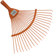 A  lombseprű   pálcás fogakkal ellátott, amely erősített acélból készült. A lombseprű kiválóan használható a pázsit tisztítására, lazítására, szellőztetésére, valamint kis felületek elsimítására.    Nyél nélkül szállítjuk!