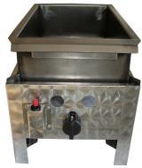 A Gáz-Grill földgáz üzemű asztali lángossütő készüléke egyégős kivitelű. A gyors és biztonságos piezoelektromos gyújtással és termoelektromos égésbiztosítóval. Tömlőcsővel és szabályzóval szállítva. A Gáz-Grill földgáz üzemű asztali lángossütő  acélserpenyővel készült, melynek méretei: szélesség 280 mm, hosszúság 460 mm, magasság 150 mm.
