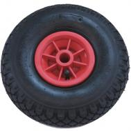 Kerék  molnárkocsihoz műanyagfelnis, tűgörgős 3.00-4  kerék, melynek átmérője  26 cm , szélessége  8,5 cm . A tengely átmérője 4 cm. Súlya 1,09 kg. Ideális  kerék  a  250 kg teherbírású malomkocsihoz , valamint a  lenyitható platós malomkocsihoz . 1 db-os kiszerelésben kapható!