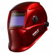 Az  IWELD  FANTOM4 automata hegesztő fejpajzs  nagy látómezővel rendelkezik (100x53 mm), mely nagyban megkönnyíti az Ön munkavégzését. A köszörülési mód és az elsötétedés kívülről állítható. Kettős áramforrással rendelkezik, napelem és Li gombelem szükséges működéséhez, melyek cserélhetők. A hegesztő fejpajzs infravörös és UV védelemmel van felszerelve az Ön biztonsága érdekében.      Az IWELD  FANTOM4 automata hegesztő fejpajzs anyaga, könnyű, tartós, égést késleltető, időtálló. A fejpajzs további előnyös tulajdonsága, hogy Ön belülről meghatározhatja érzékenységét, továbbá kivilágosodási késleltetési idővel van ellátva. Fejkosár szerkezete különleges kialakítású, ideális súlypontja az Ön kényelmét biztosítja munka közben.      Az IWELD  FANTOM4 automata hegesztő fejpajzs megfelel az MSZ, EN 379, EN 175 továbbá ANSI Z 87.1 munkavédelmi szabványnak.      A fejpajzs a következő hegesztési eljárásokhoz alkalmazható:      Bevont elektródás kézi ívhegesztés    MIG hegesztés    MIG hegesztés könnyű ötvözeteken    Volfrám elektródás ívhegesztés    Védőgázas ívhegesztés    Fogyó elektródás félautomata ívhegesztés    Plazma vágás    Plazma ívhegesztés