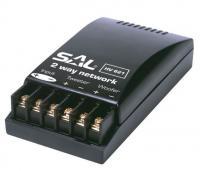 SAL HV 621  hangváltó  , ideális maximum 200 W teljesítményig. Keresztezési frekvencia 2.500 Hz, levágási meredekség 6 dB / oktáv. Aranyozott sorkapcsokkal a kiváló minőség érdekében.