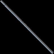 A   Muta   teleszkópos nyél   hossza 129 cm, mely rendszerének köszönhetően  2,4 méter hosszúságúra bővíthető . Szélessége 3 cm, a csatlakozó átmérője pedig 2 cm.Súlya alig éri el a fél kilót.  A   Muta   teleszkópos nyél  , rendkívül hasznos szerkezet. Önnek egyszerű dolga lesz a  nyél lel a ház körüli munkák során, ugyanis  mindössze hozzá kell csatlakoztatnia egy  fűrészhez  , így könnyedén eléri a magasabban lévő ágakat. Nem szükséges létrára vagy sámlira állnia a munkavégzéshez, ezzel pedig csökkenthető a balesetek kockázata.