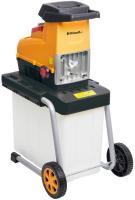 A  Riwall RES 2844 B elektromos ágaprító , 2800 W (RES 2844 B)  vagy más néven   szecskázógép   a kerti hulladékok  aprítására  szolgál. Az  aprító   csendes  működésű  zúzó hengerrel  felszerelt, amely automatikusan behúzza  az aprítani kívánt ágakat.    Teljesítménye  2800 Watt , aprítható maximális ágvastagság  4,4 cm  és egy  60 literes  gyűjtőtartállyal , valamint  elektromos túlterhelésvédelemmel  ellátott.Az  elektromos ágaprító súlya 27 kg .