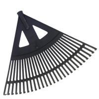 Lombseprű  műanyag 60 cm fekete (14528) . Ideális eszköz a kertben lehullott falevelek, elszáradt növények, gyomok összegereblyézésére. A  gereblye nyél nélkül kerül kiszállításra!