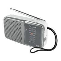 SAL  zsebrádió  (RPC 2BX) . Két sávos AM-FM rádiót kis mérete által magával viheti nyaralásra, kirándulásra, kempingezésre. A  zsebrádió  2 db AA (1,5V) elemmel működik, amely nem tartozéka a csomagnak. 3,5 mm átmérőjű fejhallgató csatlakozóval ellátott.