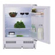 Beko  beépíthető hűtőszekrény  (BU-1101) . Ez a fagyasztórekesz nélküli készülék, nem foglal sok helyet konyhájában, pult alá  beépíthető. Magassága 82 cm, szélessége 55 cm, míg hossza 60 cm.  A hűtő nettó űrtartalma  128 liter .    Az A+ energiaosztályba tartozik. Mérete ellenére széles tárolási lehetőségeket nyújt, a hűteni kívánt élelmiszerek számára. A  hűtőszekrényben  megtalálható  3 üvegpolc, 2 ajtórekesz, zöldségtartó rekesz, valamint tojástartó.