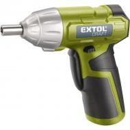 Az   Extol  Craft  akkus csavarhúzó 3,6 V- os   Li- ion 1300 mAh akkumulátorral felszerelt. Az  akkus csavarhúzó  befogása 1/4