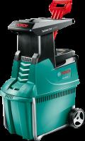 Bosch AXT 25 TC szecskázógép . A Bosch szecskázógépe kifejezetten halk, az alacsony zajkibocsátása a munkavégzés körülményeit kellemesebbé teszi. Épp amilyen halk a termék, olyannyira erőteljes is.    Optimalizált maróhengeres vágórendszer segíti elő a gyors, kiugró, 230 kg/h-s anyagáttolást. A Bosch AXT 25 TC szecskázógép vágási kapacitása kiemelkedően magas, akár 45 mm. A vágóműve letakart, így még nagyobb biztonságban tudhatja magát a használata közben.    Gyűjtődoboza nem csak óriási űrtartalmú (53 l) és segít a felaprított hulladék tárolásában, de a még nagyobb biztonságot is elősegíti, hiszen a gép csak akkor működik, ha megfelelően be van helyezve.    A Bosch AXT 25 TC szecskázógép  (ágaprító gép) tárolása során csak 67 centiméter magasságot igényel, ezt az innovatív levehető garatnak köszönhetjük.