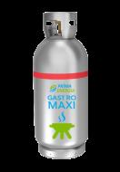 A Gastro Maxi 23 kg-os PB-gázpalack, gyorscsatlakozóval felszerelve. Kerti programokhoz, sütéshez, főzéshez ajánlott, ha nagyobb vendégsereget kell kiszolgálni, vagy hosszabb ideig működtetik folyamatosan a berendezéseket például fesztiválokon, többnapos rendezvényeken. Ajánljuk büféket, gyorséttermeket üzemeltető vállalkozások részére is. A nagyobb méret miatt nem kell gyakran cserélni. A csere gyorsabb, egyszerűbb és biztonságosabb a gyorscsatlakozóval.