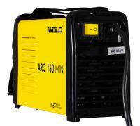 IWELD  ARC 160 Mini elektródás  hegesztő inverter  . A készülék IGBT technológiás, Arc Force és Hot Start funkcióval is  rendelkezik. Alkalmazási területei: könnyű ipari termelés, karbantartás, acélszerkezeti kivitelezés. Hegeszthető ötvözetek, anyagok: öntött vas, lágy acél, szén acél és ötvözött acélok.    Az inverter nagy hatásfokú szűrője segítségével megvédi a hálózatot, a hegesztés által keltett nem kívánatos  elektromágneses szennyezéstől, zavaroktól, de magának a gépnek a saját kiszolgáló áramköreit is védi a  stabilabb működés és a hosszabb élettartam érdekében.  A gép főbb tulajdonságai,  előnyei : stabil működés, határozott ív erő, könnyű súly, hordozható, energiatakarékos és halk működés.    Az ARC  inverter  sorozat  tulajdonságai : tökéletes használhatóság és minden hegesztési szükségletet kielégítő képesség pl. vezetékeket, hőcserélők, vákuumos tartályokat és nyomás tartó edényeket is hegeszthetünk velük.