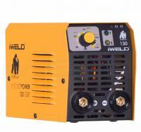 Az   IWELD  Gorilla Pocketpower 130  elektródás hegesztő inverter  . A készülék IGBT technológiás. Nagy frekvenciájú és teljesítményű IGBT (15kHz) egyen irányítja az áramot, majd PWM használatával a kimenő egyenáramot nagy teljesítményű munkavégzésre teszi alkalmassá. A hordozható  hegesztő inverter  halk működésű és energiatakarékos készülék. Bekapcsolási ideje 120 A- 60%. A mikroprocesszoros vezérlés folyamatosan segíti a hegesztő ív optimális karakterének megtartásában.   Alkalmazási területei: könnyű ipari termelés, karbantartás, acélszerkezeti kivitelezés kisipari és hobbi felhasználók számára.