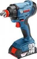 Bosch  GDX 180 LI  akkus forgó-ütvecsavarozó (06019G5220). Egyszerű karbantartás, LED lámpa, magas ütésszám, nagy fordulatszám jelemzi. Forgatónyomatéka maximum 180 Nm. A fúró üresjárati fordulatszáma 0 - 2800/perc.  Maximális csavarátmérője M6 - M16, ütésszáma 0-3.600 1/min. Az ütvefúró rezgéskibocsátása 9,5 m/s2. Szerszámtartója 1/4