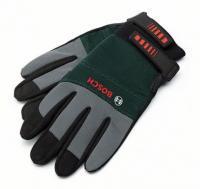 A   Bosch     kerti kesztyű   XL- es méretű, 270 mm hosszú, 115 mm széles és 35 mm magas. A kerti munkák során megvédi keze épségét.