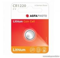 A   Home   gombelem  (AF CR1220)  lítiumos. Feszültsége 3 V.