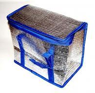 A   hűtőtáska   űrtartalma  10 liter . Szélessége 280 mm, magassága 160 mm, hossza 130 mm. Poliészterből készült, hőtartó belsővel. A praktikus, összehajtogatható  hűtőtáska  zipzárral záródik. Stabil, kék színű hordfülei biztosítják a könnyű szállítást.  Bevásárlásra, családi piknikezésre vagy nyáron a strandra is kiválóan használható. A  hűtőtáska   Freez'Pack jégakkukkal   hűthető, melyek meghosszabbítják a hűtőhatást. A jégakku több méretben is kapható, használat előtt mérettől függően 2-4 órával mélyhűtőbe kell helyezni. Étel, ital vagy gyógyszer hosszabb távú hűvösen tartására is alkalmas. Nem tartalmaz mérgező anyagot. Az akku könnyen tisztítható, akár mosogatógépben is.