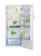 Beko  egyajtós hűtőszekrény  (RSSA 290M23W) . 151 cm-es magasságának köszönhetően nem foglal sok helyet, így a kisebb konyhákban is ideális. Nettó űrtartalma  286 liter .  A hűtőszekrény széles tárolási lehetőségéket nyújt a hűteni kívánt élelmiszerek számára.    Megtalálható benne 5 üveg polc, 5 ajtórekesz, valamint 1 zöldségtároló rekesz.  Ez a hagyományos hűtési rendszerrel ellátott  hűtő az A+ energiaosztályba tartozik. Energiafogyasztása éves szinten 136 KWh.