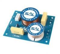 SAL  hangváltó  2 utas (HV 228) . Kifejezetten ideális a specifikusabb hangosítástechnikai célokra. Terhelhetősége 200 W. Keresztezési frekvenciája 3000 Hz. A  hangváltó  levágási meredeksége 12 dB/oktáv. Átkapcsolható kimeneti szintje magas: 0 / -3 dB. 12 cm széles, 9,5 cm hosszú, 2,8 cm magas.
