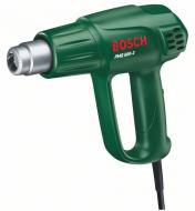 A  Bosch PHG 500-2 Bosch hőlégfúvó  egy sokoldalú hőlégfúvó, melyet nagy teljesítménye (1600 W) révén alkalmazhatjuk lakkok és festékek leégetéséhez, forrasztásához és különböző anyagok rögzítéséhez.  Túlterhelés esetén a Thermostop funkciónak köszönhetően a fűtőelem önállóan lekapcsol. Két fokozatú hőmérséklet és levegőmennyiség szabályozással.  A biztonságos munkavégzés érdekében zárt fogantyú került kialakításra a készüléken.Letámasztó felülettel is ellátott a telepített munkavégzés érdekében.