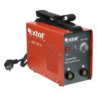 Az  Extol Premium   inverter hegesztőtrafó  hálózati (230V/50Hz) áramról működik. Teljesítménye 5,3 kVA. Egy darab 20 A-es (C karakterisztika)biztosíték található benne. Hegesztőáram tartománya 30-160 Amper. Üresjárati feszültsége: 76 V. Terhelési faktor:   160A/35%   125A/60%   100A/100%    Az Extol  inverter hegesztőtrafó hatásfoka 85% A hegesztőtrafóhoz használható elektróda méret: 1,6-4,0 mm. MMA módszer mellett, rutil, bázikus, cellulóz stb elektródatípust használhatunk. WIG/TIG módszer alkalmazásakor wolfram kiegészítő berendezés szükséges (nem része a csomagnak)   Tartozékok, kábelek nélkül szállítjuk.   Az Extol  inverter hegesztőtrafó számos tulajdonsága segíti a könnyű munkavégzést:    – Munkafolyamathoz illeszthető, fokozatmentes hegesztési áram állítás.    – Kis méret, könnyű hordozhatóság.    – Állítható hosszúságú, széles vállheveder.    – Ventilátoros hűtés a túlmelegedés elkerülése végett.    – Ívstabilizáló funkció (Arc force).    – Letapadás gátló funkció (Anti stricking).    – Ívgyújtás könnyítő funkció (Hot start).    – Teljesítmény tartalékkal (kb 10%) rendelkezik         Az Extol  inverter hegesztőtrafó a szerkezetlakatos munkákhoz, helyszíni javító munkákhoz kiváló készülék.
