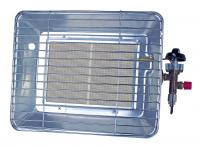 A Rothenberger Industrial Eco hősugárzó, acéllemez házzal készült, kültéri használatra. Közvetlenül a normál gázpalackra szerelhető.  A hősugárzó alkalmas helyi hőmérséklet beállítására, pl kiállító sátrak, kerti partik helyi hőérzetének javítására.A készülék segítségével meghosszabbíthatja a szabadban eltöltött pihenőidőt.Teljesítménye 2,7-4,2kW.A melegítő fej 180 mm széles és 125 mm hosszú.