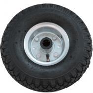 Kerék  molnárkocsihoz fémfelnis, tűgörgős 3.00-4 . Átmérője  26 cm , míg szélessége  8,5 cm . A tengely átmérője 4 cm.  Súlya 1,36 kg. Ideális  kerék  a  250 kg teherbírású malomkocsihoz , valamint a  lenyitható platós malomkocsihoz . 1 db-os kiszerelésben kapható!