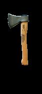 A  Juco  konyhabalta  0,6 kg súlyú , nyéllel ellátott. A formatervezett fa nyél ergonomikus kialakítású markolata lehetővé teszi a biztonságos és kényelmes munkavégzést. A Juco  konyhabalta  kiválóan használható a ház körüli, valamint erdészeti munkákra egyaránt.