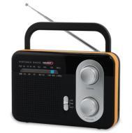 A  Hauser TR-9203 O hordozható  táskarádiót   nem csak otthonában, hanem a kertben és kempingezések, nyaralások alkalmával is magával viheti és hallgathatja.  Teleszkópos antennája két hullámsáv AM/FM befogására képes: AM 530-1600 KHz, FM 87,5-108MHz rádió. A  rádió  hálózatról és elemmel egyaránt működik. Dinamikus hangszórójának kellemes a hangzása, de fülhallgatót is csatlakoztathat hozzá.