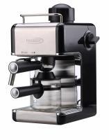 A   Hauser  CE-929 B fekete kávéfőző   segítségével capuccino és expresszó kávét készíthet, egyszerre 4 csészét. Teljesítménye 800 W. A  kávéfőzőnek  több hasznos funkciója van, mint a gőzölés, túlmelegedés elleni védelem, kivehető csepegtető tálca.