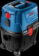 A   Bosch  GAS 15 PS  ipari univerzális porszívó  1100 wattos  szívóturbinája segítségével erőteljes elszívásra képes. Nedves és száraz üzemmódban egyaránt használható. A szűrő hosszabb élettartamát és a nagyobb teljesítményt a félautomata szűrőtisztító rendszer garantálja. Az innovatív porzsáktartó rendszer által professzionális ipari porzsákként és általános háztartási használathoz is alkalmas. Az  univerzális porszívó  automatikus start- stop tápcsatlakozó aljzattal,  parktikus porelszívó csatlakozóval rendelkezik . A tömlő egyszerű és gyors csatlakoztatást a Smart Click kialakítás teszi lehetővé. Az antisztatikus tömlő 3 m hosszú, ezzel megkönnyítve a munkavégzést.