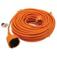Az   Extol  Craft földelt  hálózati hosszabbító   narancssárga színű és 20 méter hosszúságú. A vezeték 3 x 1,00 mm2H05VV-F. 250 V / 10 A/ 2300 W.