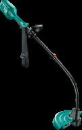 A Bosch ART 35  Fűkasza  kiválóan használhatómagas és kemény fű, mező és elvadult kertrészek valamint nehezen hozzáférhető helyek pl:bokrok alja, lejtők és szélek nyírására. A  fűkasza  600 wattos, hatékony motorja hasonlóteljesítményt nyújt minta nagyobb erejű modellek. A könnyű és egyszerű kezelhetőséget ajó súlyeloszlás és a vállheveder biztosítja. Az ergonomikus fogantyúk és a stabil szár elősegítik a gép irányítását. A szegélyvágót védőburkolat óvja a külső hatásoktól pl: ütődés, tárolási hibák. A Bosch ART 35  fűkasza  könnyedén szállítható.