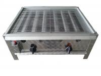 A Gáz-Grill PB-gáz üzemű asztali grillező készüléke kétégős kivitelű. A gyors és biztonságos piezoelektromos gyújtással és termoelektromos égésbiztosítóval. A rostélyrács krómozott. A zsírfelfogó tálca, a lángvédő burkolat és a fogó nemesacélból készült. Tömlőcsővel és szabályzóval szállítva. A Gáz-Grill PB-gáz üzemű asztali grillező készülék nagyobb mennyiségű étel készítésére használható.