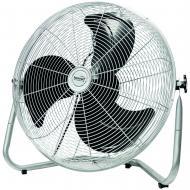 Home   padlóventilátor 45 cm, 100 W . Ideális készülék otthonában vagy munkahelyén történő használatra. Fém lapátjainak átmérője 45 cm. Használatkor 3 teljesítmény fokozat közül választhat. Védőrácsa krómozott, a fej dőlésszögét 90°-ig állíthatja. A  ventilátor  teljesítménye 100 W (230 V/50 Hz).